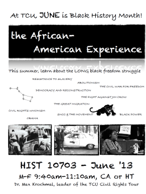 AFAM flyer image